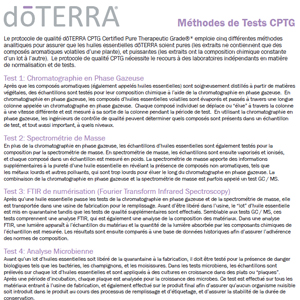 Methode de test CPTG